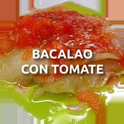 bacalao con tomates